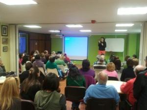 Charla Coloquio en Asociación Sordos Santander y Cantabria